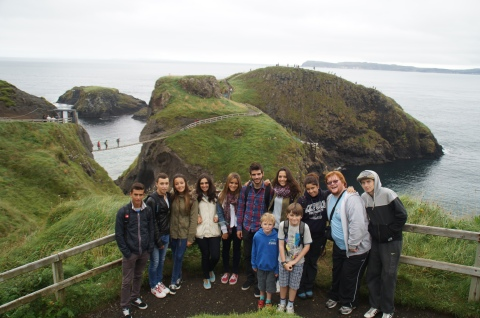 Abuztuak 26; Carrick-A-Reed Rope Bridge y la Calzada de los Gigantes